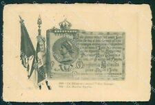 Militari II Reggimento Piemonte Cavalleria Regina Margherita cartolina XF1860