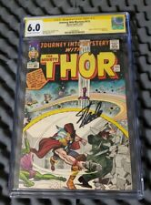 CGC SS 6.0 THOR JOURNEY INTO MYSTERY #111 Signed Stan Lee autograph Marvel RARE