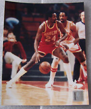 MOSES MALONE 8X10 PHOTO HOUSTON ROCKETS