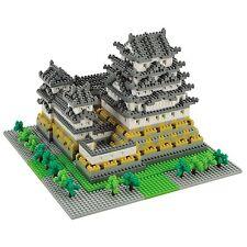 Nanoblock Deluxe Himeji Castle Micro Blocks Nano Blocks