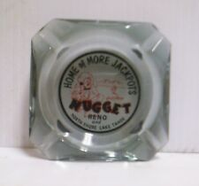 Vintage Jim Kelley's Nugget Reno and North Shore Lake Tahoe Ashtray