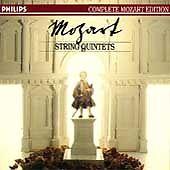 Mozart: String Quintets (CD, Feb-1991, 3 Discs, Philips)
