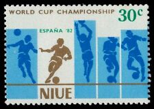NIUE 343a (SG434) - Espana '82 World Cup Football Championships (pa31881)