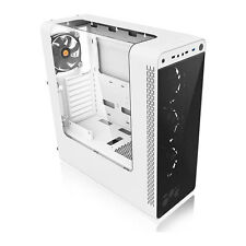 Thermaltake View 27 Snow Edition Gull-wing Curved Window Mid-tower Case