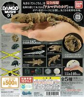 BANDAI pill bugs 07 All 3 (type) set Gashapon toys Miniature Figure