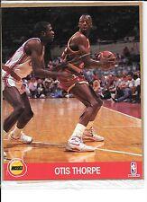 Otis Thorpe Houston Rockets 8 x 10 NBA 1989-90 photo, single