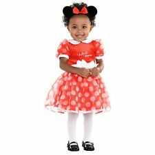 Disney Baby Minnie Mouse Red Dress 3-6mths - Toddler Babies Costume Outfit