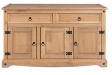 Quality 3 Door 2 Drawer Sideboard Living Room Corona Mexican PIne Furniture
