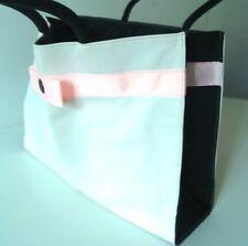 Nouveau-Pretty GUERLAIN Femme Cabas Sac blanc avec nœud rose-Sac Cabas Shopping Sac