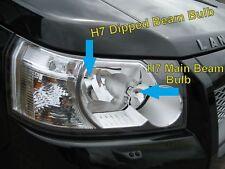 Land Rover Freelander 2 OSRAM H7 Night Breaker Halogen Headlight bulbs upgrade