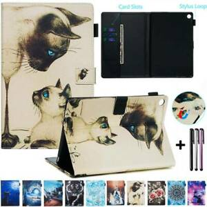 """For Huawei MediaPad M5 M3 Lite 8"""" 8.4"""" 10.1"""" 10.8"""" Magnetic Leather Case Cover"""