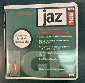2 Brand New Genuine Iomega Jaz 1GB Disk Media, Formatted for IBM-compatibles