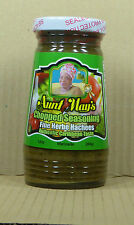 284gr. Chopped Seasoning fine herbe hachees/Marinade von Aunt May's aus Barbados