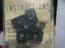 VINTAGE BEAR ARCHERY COMPOUND DRAW STOPS FOR OLDER STYLE 2 WHEEL COMPOUND BOWS