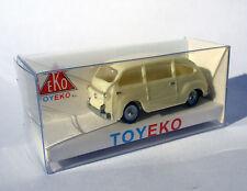 FIAT 600 MULTIPLA CREMA CREAM 1/87 TOYEKO TOY EKO NOVEDAD