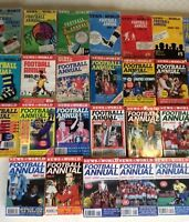 NEWS OF THE WORLD FOOTBALL ANNUALS ~ 1962 TO 2008 ~ YOU CHOOSE WHICH YEAR