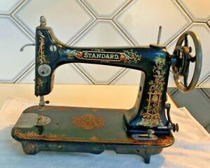 Antique~1904 STANDARD Rotary Sewing machine~Cleveland Ohio