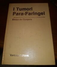 I tumori para-faringei Enrico De Campora verducci editore 1982 prima edizione