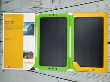 MOOLSUN Solar Charger 24W Portable Solar Panel Charger with 3 USB Output Ports