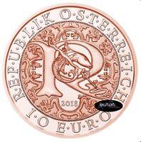Pièce 10 euros commémorative AUTRICHE 2018 - Raphael L'Ange Guérisseur - Cuivre