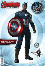 AVENGERS AGE OF ULTRON CAPTAIN AMERICA DESK STANDEE NEW IN PACKAGE #sjan16-101