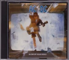 ACDC - Blow Up Your Video - AC/DC - CD (4652522 1988 Black & White Distronics)