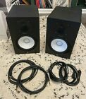 Yamaha HS8 Studio Monitor Speaker Black (Pair) - Used, Excellent, w/ Cables