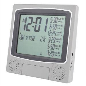 Mirac Ezan Saati Otomatische Azan Uhr Azan Clock Auto Zeit Temperaturanzeige