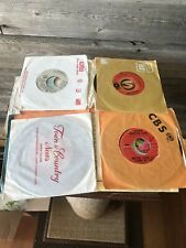 Vintage 45 RPM Vinyl Records Lot