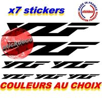 Stickers Autocollants X7 YZF-Yamaha YZF YZFR125 YZFR6 YZFR MOTO CARENAGE CASQUE