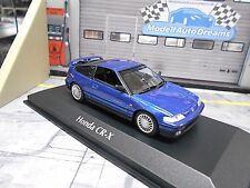 HONDA Civic Coupe CRX CR-X 1989 blue blau met Maxichamps Minichamps 1:43
