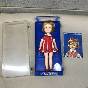 Vintage 1963 Penny Brite doll with Case & booklet