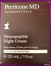 Perricone Md Neuropeptide Night Cream, Jar, 1 Ounce / 30 Ml (Nib)