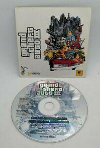 RARE Promo Rockstar Moving Shadow's MSXFM Grand Theft Auto III 3 Audio CD