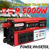 5000W DC12V to AC220V Sine Wave Power Inverter + 4 USB Port Camping RV Caravan