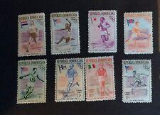 Dominican Republic #474-#478, #C97-#C99, Mint, NH, OG