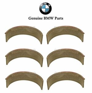 For BMW E46 M3 M Coupe Roadster Rod Bearing Set of 6 Standard Red Shell Genuine