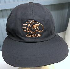 Canada Bear Paw Tourist Strapback Baseball Cap Hat