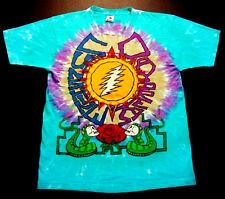 Grateful Dead Shirt T Shirt Vintage 1990 Sunhine Daydream Snakes Summer Tour XL