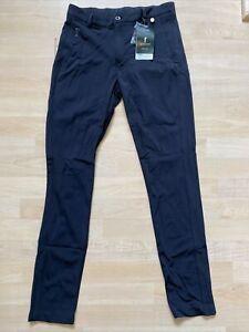 NWT Golfino Ladies Sancia Trousers Extra Cozy Stretch 3368726 890 Black Sz 6 NEW