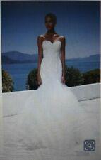 New  Justin Alexander Mermaid  wedding dress size 16 model 8915 . RRP £1400.00