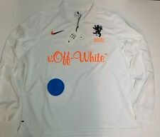 Nikelab x Off-White Football Home Jersey Medium Aa3300-100 Nrg Mercurial Soccer