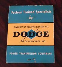 1960S Dodge Mopar Advertising Power Transmissions Match Cover