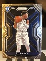 2020-21 Prizm Tyler Bey Base Rookie Card Dallas Mavericks RC