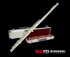 Suzuki Masterclass Series C Flute Sterling Silver Plate Authorised Suzuki Dealer