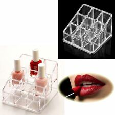 9 Lipsticks Makup Brush Nail Polish Cosmetic holder storage organiser