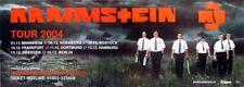 RAMMSTEIN - 2004 - Tourplakat - Concert - Reise Reise - Tourposter - 2xA1