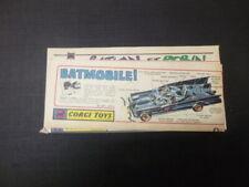 Publicité vintage 60's Corgi   Corgi toys voiture divers  Batman  james bond