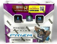 2019-20 panini prizm basketball retail box sealed, free shipping!