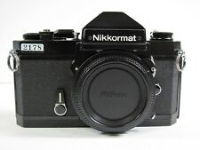 Nikon Nikkormat FT2 Black 35mm Black Camera body in 8 of 10 Condition